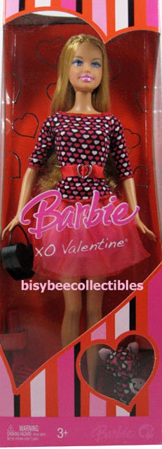 xo valentine barbie doll m0926 view images