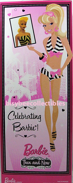 50th Anniversary Bathing Suit Barbie Doll P6508
